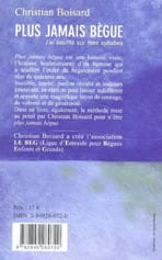 Boisard - Pochette dos - Livre : Plus jamais bègue